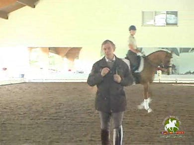 JJ Tate, part 2, day 1, improving the canter pirouette by Dressage Today Online