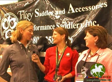 A chat with Shannon and Debbie about saddle fit by Dressage Today Online