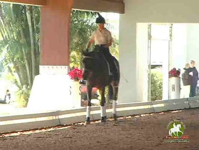 Jennifer Baumert, part 1, day 1,  by Dressage Today Online