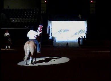 Opening of the evening event by Dressage Today Online