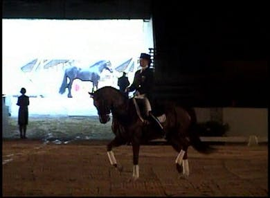Lauren Spreiser Freestyle on Ellegria by Dressage Today Online