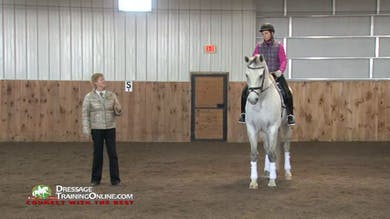 In part one of this five part video, Ms. Fore works with the owner/rider of this six year old Dutch gelding. by Dressage Today Online