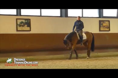 Part three begins with an excellent explanation of what movements to work on at the same time and why. by Dressage Today Online