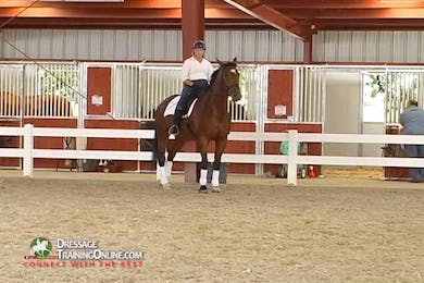 Debbie McDonald - Feel and Contact - Part 1 by Dressage Today Online