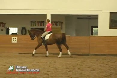 Katrin Bettenworth - Moving Up From PSG, Part 3 by Dressage Today Online