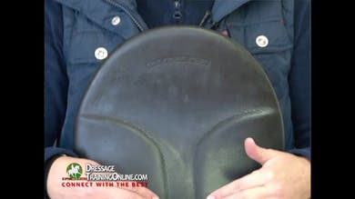 Catherine now explains the seat of the saddle and how it helps both the riders and the horse. by Dressage Today Online