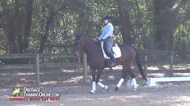 Laura Graves helps this young rider with her canter pirouettes. by Dressage Today Online