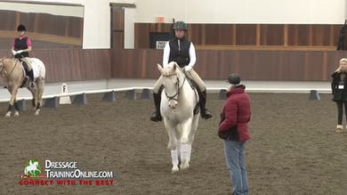 Janet explains how this issue can prevent a rider from advancing to First Level. - Part 2 by Dressage Today Online