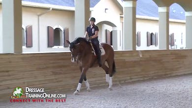 Catherine talks about the program for this young rider with aspirations to become a trainer. - Part 2 by Dressage Today Online