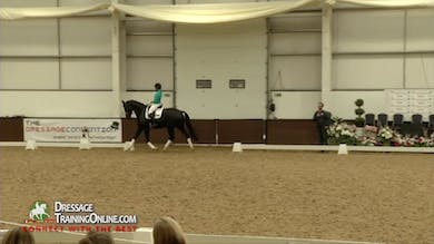 Carl now works with his rider on suspension in the trot. - Part 3 by Dressage Today Online