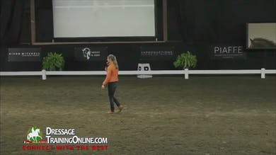 Adeline answers questions from the audience. - Part 4 by Dressage Today Online