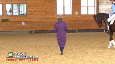 Janet evaluates the ride starting with the piaffe and passage. - Part 2 by Dressage Today Online