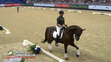 Isabell Werth now works with seven year old Hanoverian gelding on his way to Grand Prix. - Part 2 by Dressage Today Online