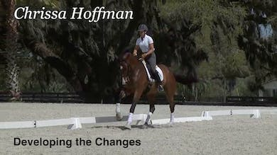 Chrissa Hoffman - Developing the Changes by Dressage Today Online