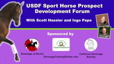 11/27/14 - USDF Sport Horse Prospect Development Forum - Building Confidence in the Young Horse by Dressage Today Online