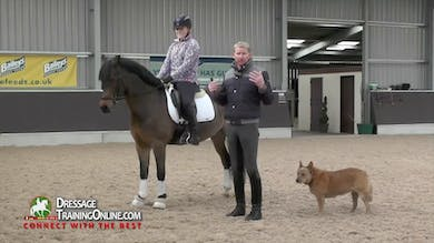 Gareth Hughes - Rider Position by Dressage Today Online