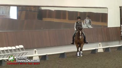 Debbie McDonald and Janet Foy - Third Level Test 3 by Dressage Today Online