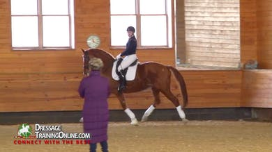 Janet Foy - 08/18/16 - Test Intermediate B ridden, scored and critiqued with training by Dressage Today Online