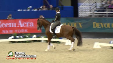Isabell Werth - 4/6/17 - 2017 World Cup Dressag Showcase - Young Horse to Grand Prix by Dressage Today Online