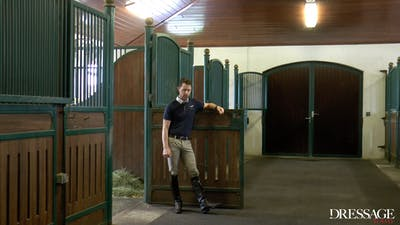 Nicholas Fyffe - Cross-Training for Horse and Rider, Leg Swings by Dressage Today Online