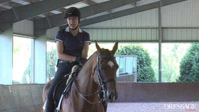 Susanne von Dietze - The Rider's Seat, Demo Ride by Dressage Today Online