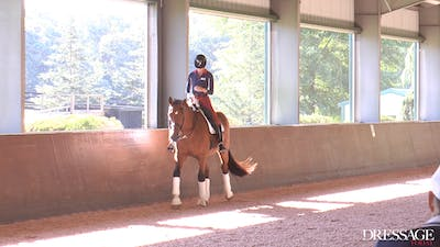Susanne von Dietze - The Rider's Seat, Day 1/Ride 1 by Dressage Today Online