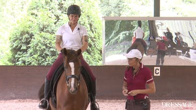 Susanne von Dietze - The Rider's Seat, Day 2/Ride 9 by Dressage Today Online