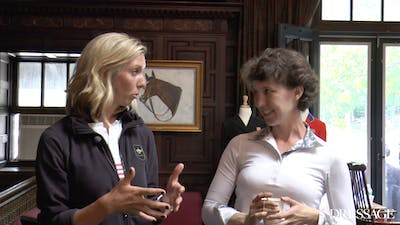 Laura Graves - Riding a Tense Horse Interview by Dressage Today Online
