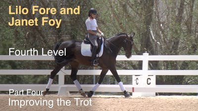 Instant Access to Janet Foy and Lilo Fore - Fourth Level Basics - Part Four - Improving the Trot by Dressage Today Online, powered by Intelivideo
