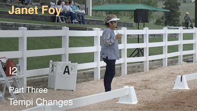 Janet Foy - I2 - Part Three - Tempi Changes by Dressage Today Online