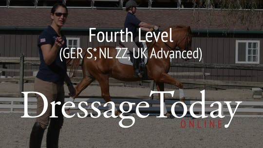 Fourth Level (GER S*, NL ZZ, UK Advanced) by Dressage Today Online