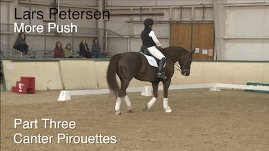 Lars Petersen - More Push - Part Three - Canter Pirouettes by Dressage Today Online