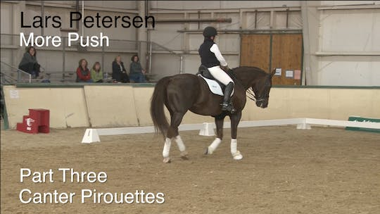 Instant Access to Lars Petersen - More Push - Part Three - Canter Pirouettes by Dressage Today Online, powered by Intelivideo