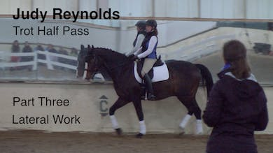 Judy Reynolds - Trot Half Pass, Part 3 by Dressage Today Online