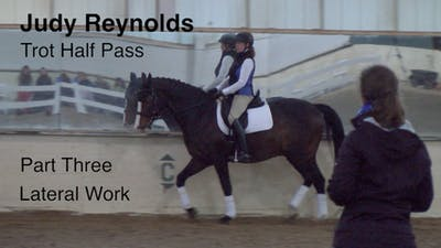 Instant Access to Judy Reynolds - Trot Half Pass, Part 3 by Dressage Today Online, powered by Intelivideo