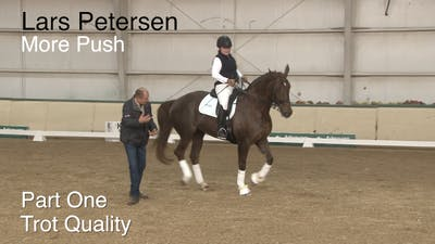 Instant Access to Lars Petersen - More Push - Part One - Trot Quality by Dressage Today Online, powered by Intelivideo