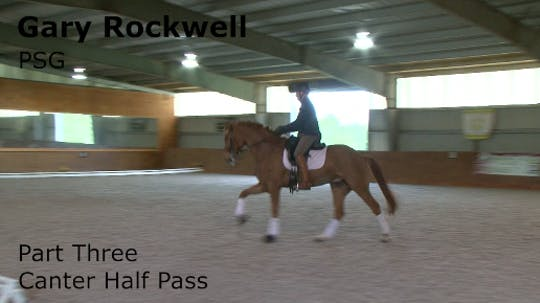Instant Access to Gary Rockwell - PSG - Part Three - Canter Half Pass by Dressage Today Online, powered by Intelivideo