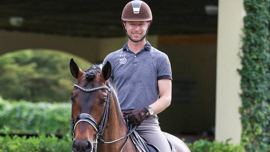 Stretchy Trot and Clean Changes - Nicholas Fyffe by Dressage Today Online, powered by Intelivideo