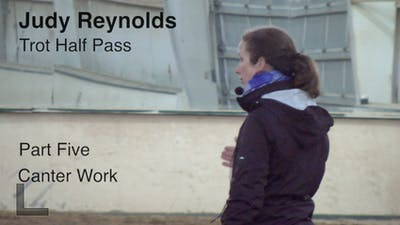 Judy Reynolds - Trot Half Pass, Part 5 by Dressage Today Online