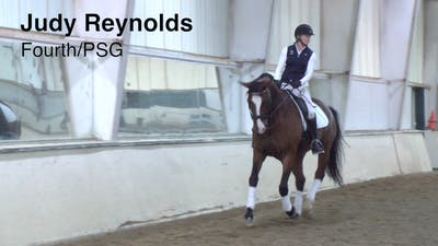 Judy Reynolds - Fourth/PSG by Dressage Today Online