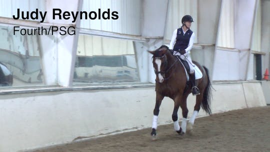 Instant Access to Judy Reynolds - Fourth/PSG by Dressage Today Online, powered by Intelivideo