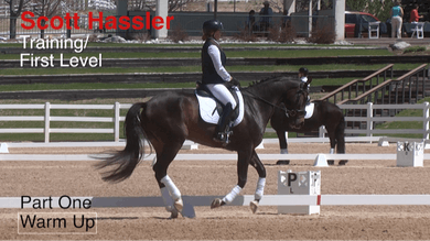Scott Hassler - Training and First Level, Part 1, Warm Up by Dressage Today Online