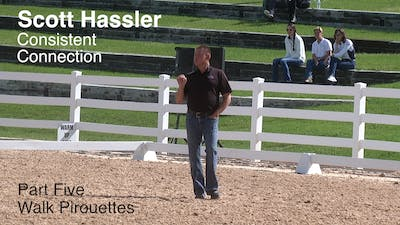 Instant Access to Scott Hassler - Consistent Connection, Part 5 by Dressage Today Online, powered by Intelivideo