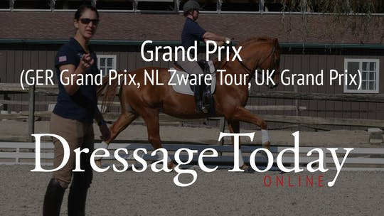 GP - Grand Prix (GER Grand Prix, NL Zware Tour, UK Grand Prix) by Dressage Today Online