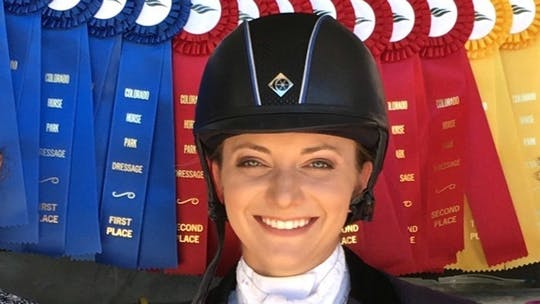 Mimi Stanley by Dressage Today Online