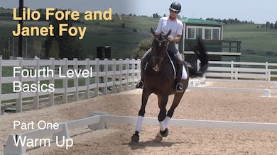 Janet Foy and Lilo Fore - Fourth Level Basics - Part One - Warm Up by Dressage Today Online