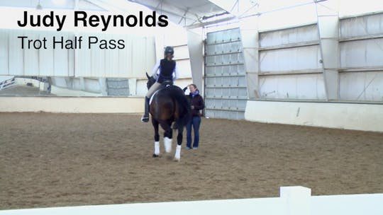 Instant Access to Judy Reynolds - Trot Half Pass by Dressage Today Online, powered by Intelivideo