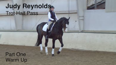 Judy Reynolds - Trot Half Pass, Part 1 by Dressage Today Online