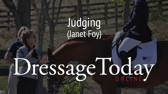 Janet Foy by Dressage Today Online