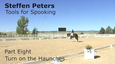Steffen Peters - Tools for Spooking - Part 8 - Turn on the Haunches by Dressage Today Online